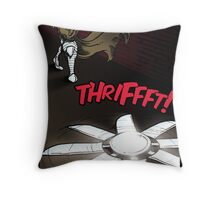 The Iron Knight - Issue #01: Teaser Pt3 Throw Pillow
