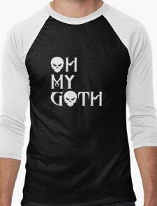 Oh My Goth Men's Baseball ¾ T-Shirt