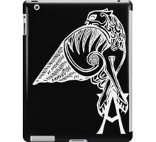 Buffy the Vampire Slayer - Angel's Tattoo (white) iPad Case/Skin