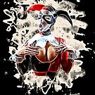 Harlequin Psychedelic - white by Bela-Manson