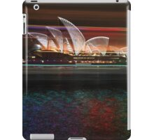 Streaks of colours iPad Case/Skin