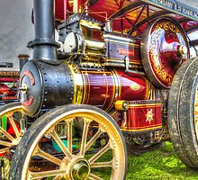 Little Red Engine by JLHphoto