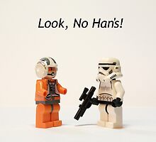 Look, No Han's! by Scott Carruthers