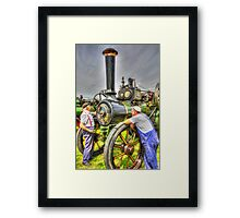With Two On the Job? Framed Print