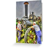 With Two On the Job? Greeting Card