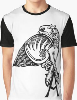 Buffy- angel's tattoo (black) Graphic T-Shirt