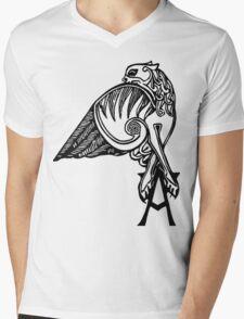 Buffy- angel's tattoo (black) Mens V-Neck T-Shirt