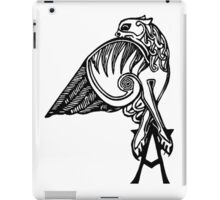 Buffy- angel's tattoo (black) iPad Case/Skin