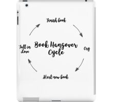 Book Hangover iPad Case/Skin