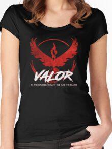 Team Valor - Crush Rush Women's Fitted Scoop T-Shirt