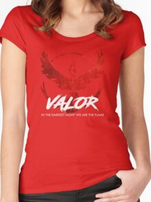 Team Valor - Crush Rush Women's Fitted Scoop T-Shirt