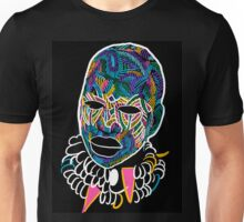 Voodoo Portrait with ethnic ornaments Unisex T-Shirt