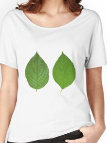 Two Sided Leaf Women's Relaxed Fit T-Shirt