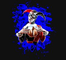 Harlequin Psychedelic - blue Unisex T-Shirt