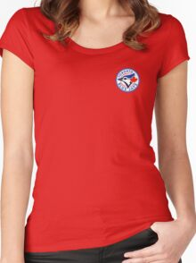Toronto Blue Jays - Logo Women's Fitted Scoop T-Shirt