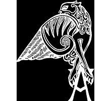 Buffy the Vampire Slayer - Angel's Tattoo (white) Photographic Print