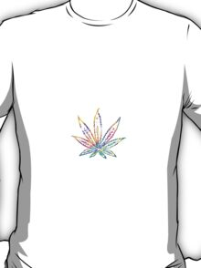 Marijuana Leaf Vector T-Shirt