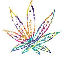 Marijuana Leaf Vector by serenityspagift