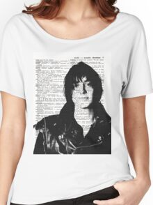 "Julian Casablancas - The Strokes ""Acoustic Vibrations"" Women's Relaxed Fit T-Shirt"