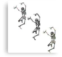 Skeletons Canvas Print