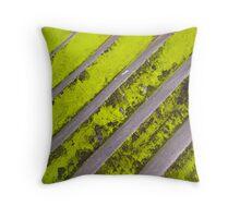 Step Green - 2766 Throw Pillow