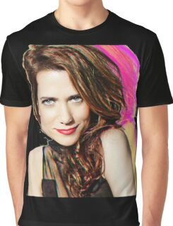 Kristen Wiig SNL Portrait Graphic T-Shirt