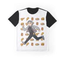 Quicksilver EAT & RUN! Graphic T-Shirt