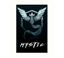 Pokemon Go Teams! (Mystic) Art Print