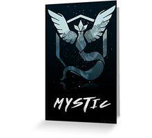 Pokemon Go Teams! (Mystic) Greeting Card