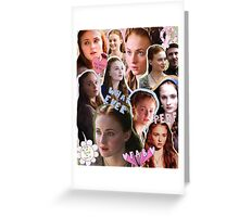Sansa Stark, practically perfect in every way Greeting Card