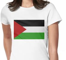 Palestine Womens Fitted T-Shirt