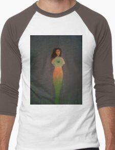 Green Goddess Men's Baseball ¾ T-Shirt