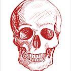Red Skull by ickiskull