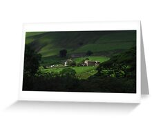 Down On The Farm, Edale Greeting Card