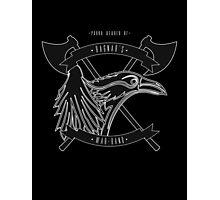 Ragnar's war-band Photographic Print