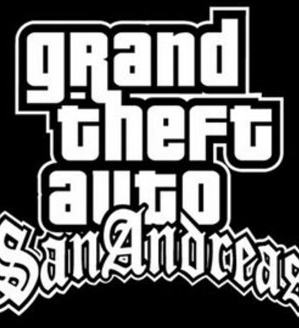 Grand Theft Auto: San Andreas Sticker