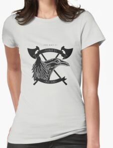 Ragnar's war-band Womens Fitted T-Shirt