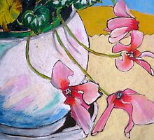 Jo's Cyclamen by Evelyn Bach