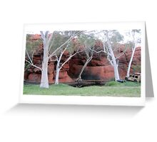 Durba Springs WA Greeting Card