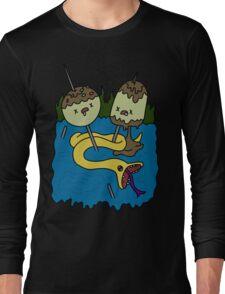 adventure time rock shirt Long Sleeve T-Shirt