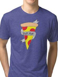 Pop Punk Pizza Tri-blend T-Shirt