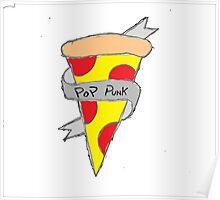 Pop Punk Pizza Poster