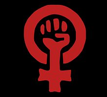Feminist Symbol by Boogiemonst