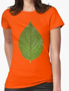 Simple Leaf Womens Fitted T-Shirt