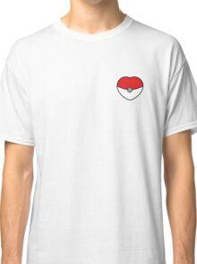 POKEBOLA HEART POKEMON GO Classic T-Shirt