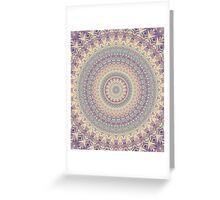 Mandala 123 Greeting Card