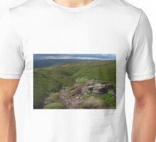 The Pennine Way, Charlesworth, Derbyshire Unisex T-Shirt