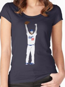 No Hitter Women's Fitted Scoop T-Shirt