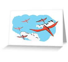 Pterodactyl Flying Squadron Greeting Card