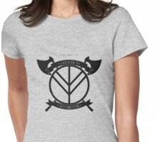 Lagertha's shieldmaidens Womens Fitted T-Shirt